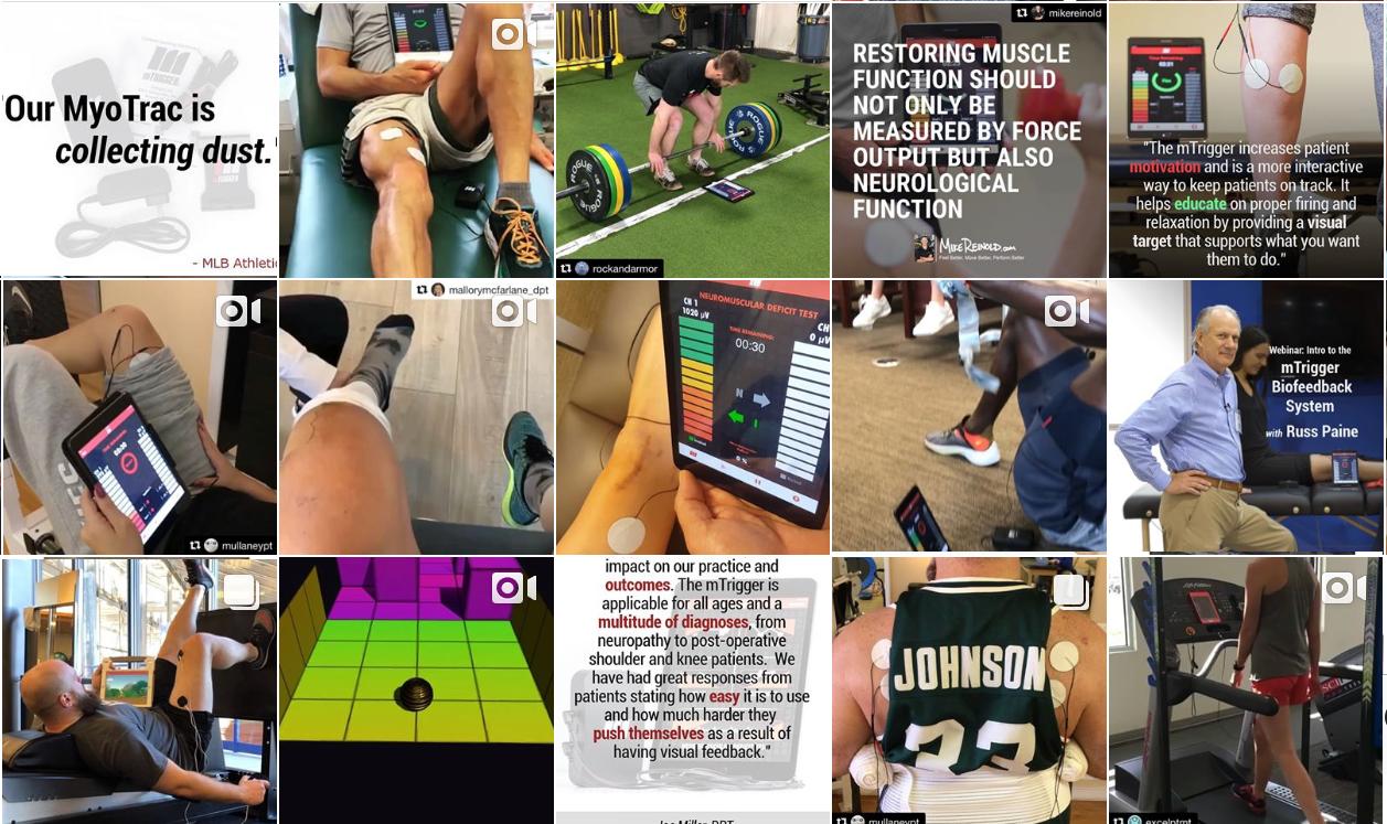 Instagram grid compilation