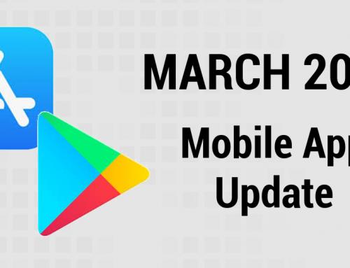 App Release Updates: March 2021